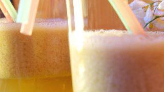 Centrifugato depurativo di pera e mela