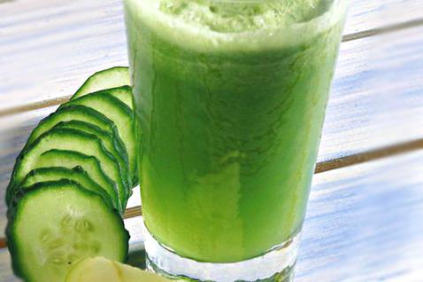 centrifugato energizzante con verdure verdi