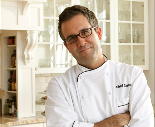 Chad Sarno Chef vegano crudista