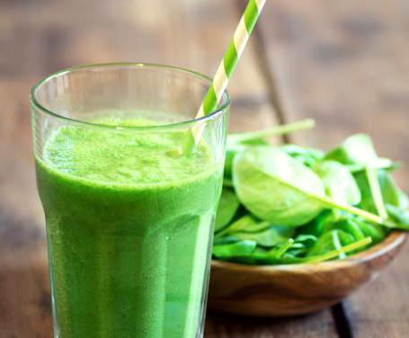 Frullato spinaci e menta
