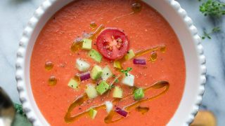 Gazpacho piccante vegan