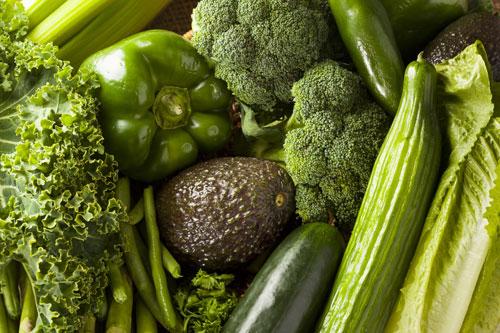 Le proprietà della verdura