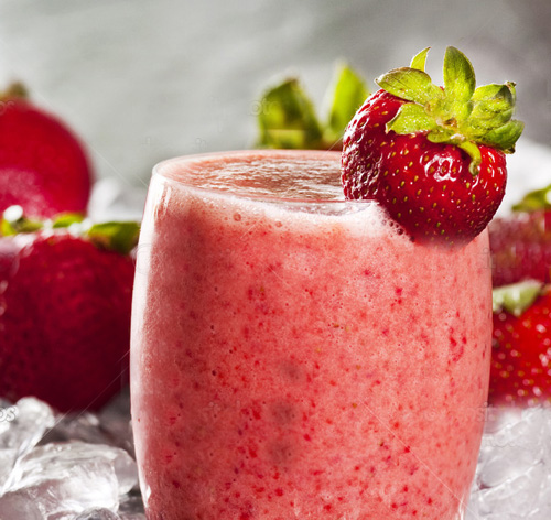 Smoothie di fragola alla vitamina C