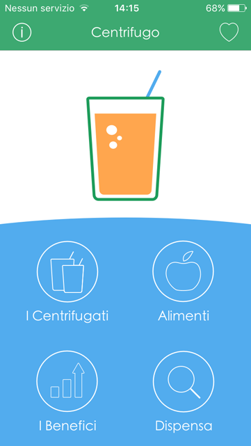 Centrifugo App per iPhone