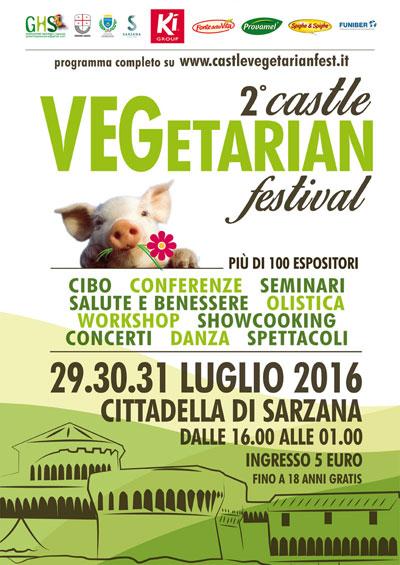Castle vegetarian fest Sarzana