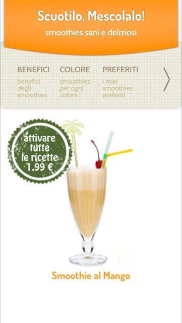 Smoothies app