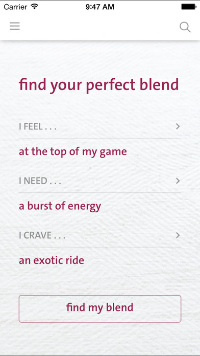 The blender girl App
