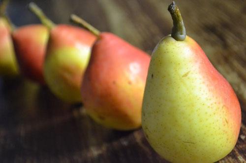Ricetta chips pera e cannella
