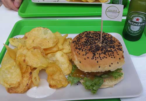 Vegana Burgers ristorante vegan lisbona