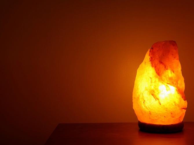 lampada al sale himalayano