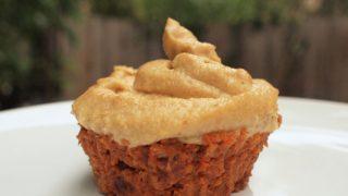 Ricetta cupcakes di carote crude ed arancia
