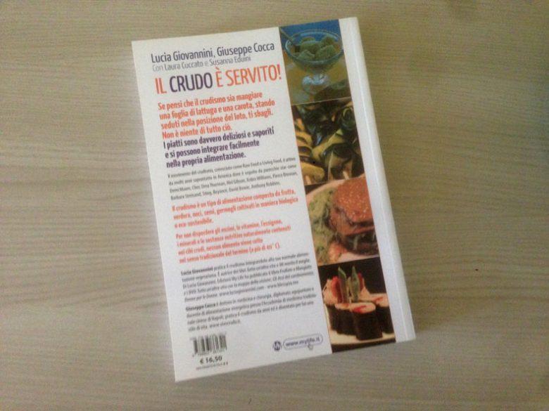 recensione del libro il crudo è servito di giovannini cocca